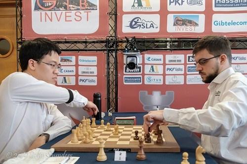 Vietnamese player advances at Gibraltar Chess Festival hinh anh 1