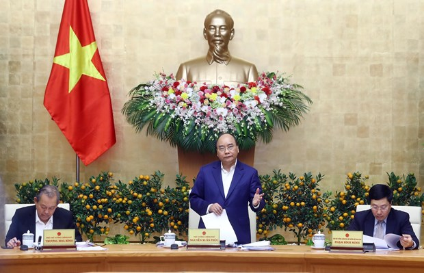 Consolidating macro-economic stability the leading task this year: PM hinh anh 1
