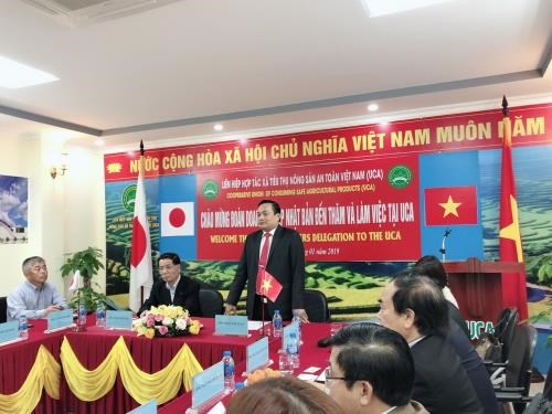 Japanese firms seek agricultural cooperation opportunities in Vietnam hinh anh 1