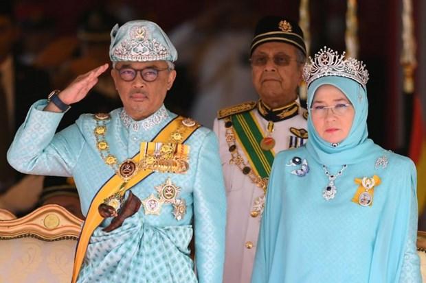 Malaysia King swears in hinh anh 1