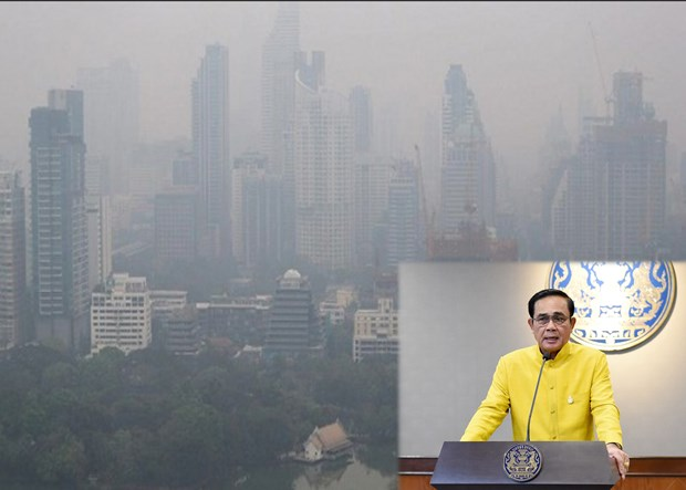 Thai PM asks agencies to devise long-term plan to tackle PM2.5 hinh anh 1