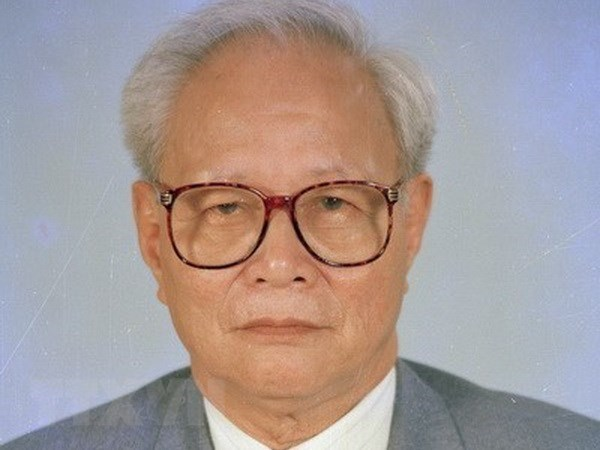 State funeral held for former Politburo member Nguyen Duc Binh hinh anh 1