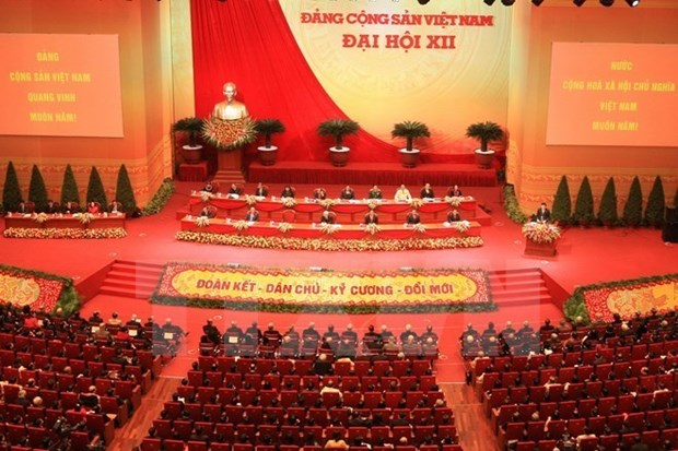 Greetings from Cambodian, Lao ruling parties on CPV's 89th anniversary hinh anh 1