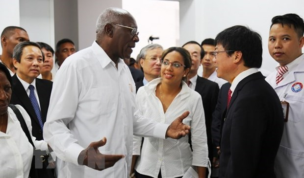 Vietnam-Cuba hospital, a highlight in bilateral healthcare cooperation hinh anh 1
