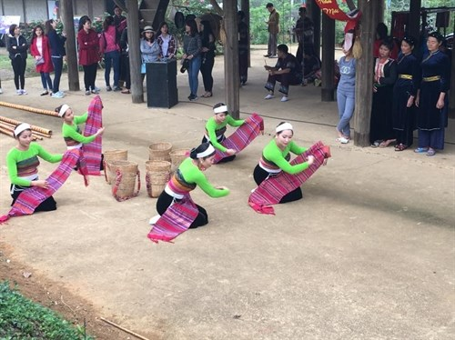 Xoe Thai seeks title of intangible cultural heritage hinh anh 1