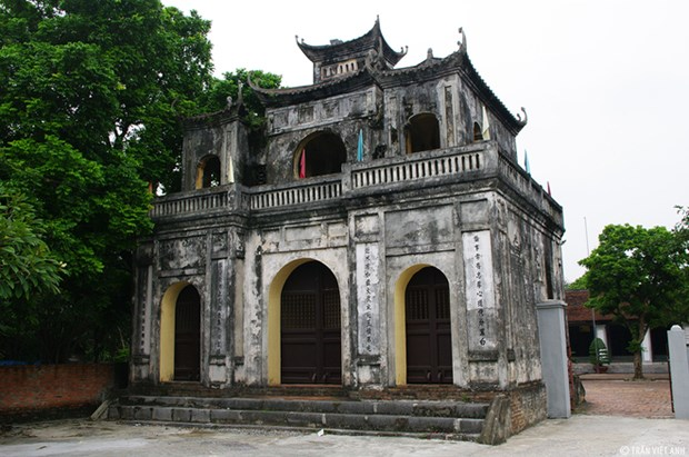 Xich Dang temple of literature in Hung Yen hinh anh 1