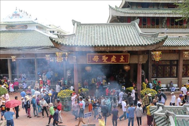 An Giang to serve over 714,000 tourists during Tet holiday hinh anh 1