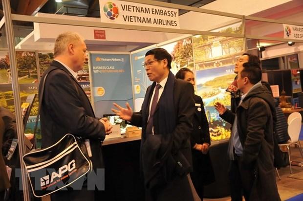 Vietnam promotes tourism at Belgium's holiday fair hinh anh 1
