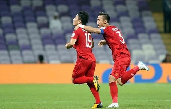 Vietnamese midfielder wins Best Goal Award at Asian Cup hinh anh 1