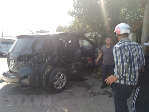 Tet traffic accidents kill 135 hinh anh 1