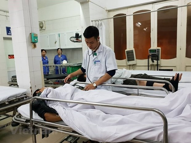 Nearly 110,500 patients under treatment during New Year holiday hinh anh 1