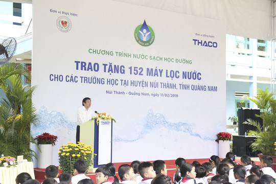 Programme helps ensure clean drinking water for schools hinh anh 1