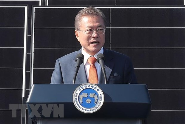 RoK President optimistic about DPRK-US summit in Hanoi hinh anh 1