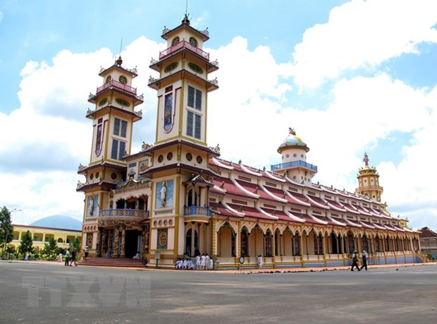 Cao Dai Tay Ninh Church holds annual festival hinh anh 1