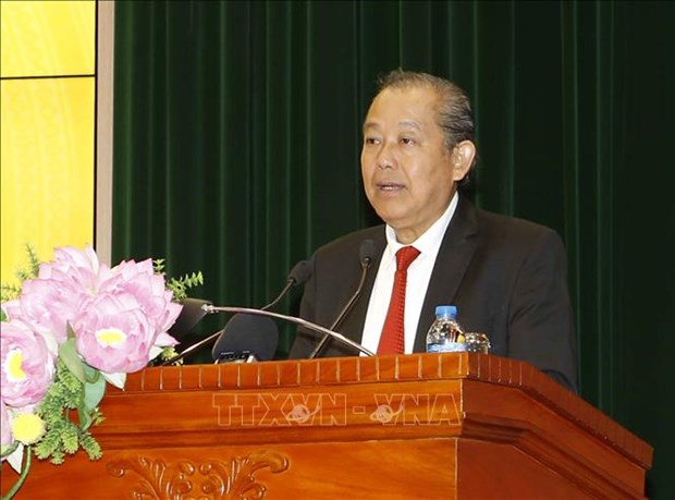 Deputy PM pays New Year visit to State Audit hinh anh 1