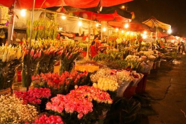 Hanoi flower market among top spots for Lunar New Year celebrations: CNN hinh anh 1