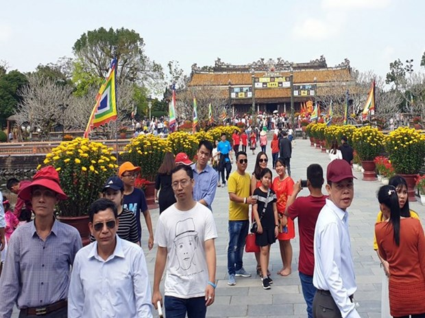 Tourism thrives in central region during Tet holiday hinh anh 1