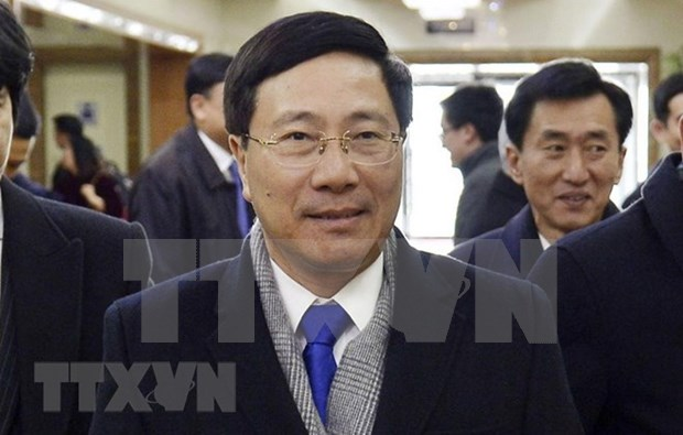 Deputy PM begins official visit to DPRK hinh anh 1