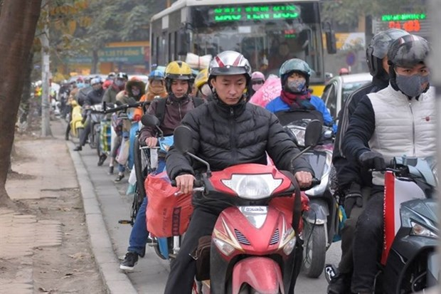 Hanoi city's air quality remains poor hinh anh 1