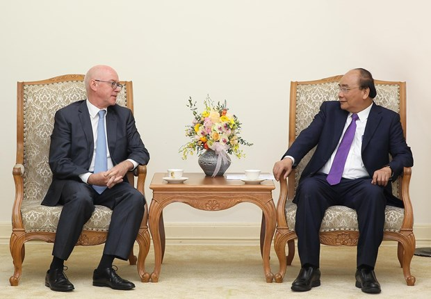 Prime Minister hosts IMF chief representative hinh anh 1