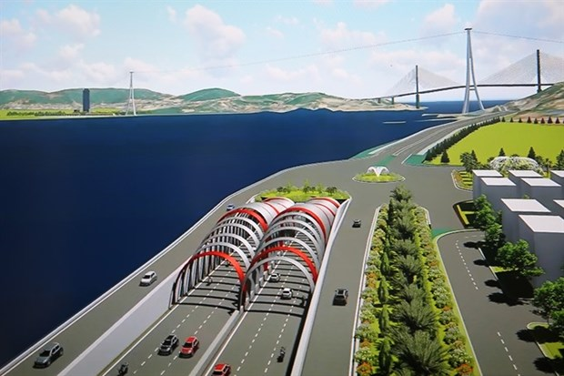 Quang Ninh plans to build undersea tunnel at Cua Luc Bay hinh anh 1