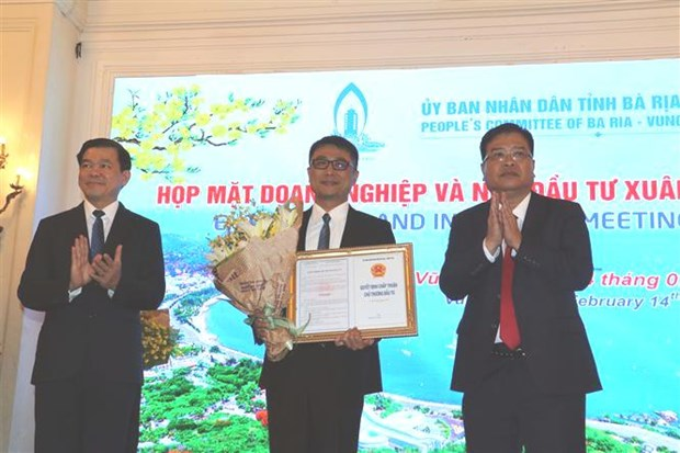 Ba Ria-Vung Tau licenses nine projects hinh anh 1