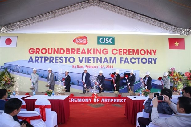 Work starts on Japanese packaging factory in Ha Nam hinh anh 1