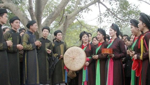 Bac Ninh honours Quan Ho singing preservers hinh anh 1