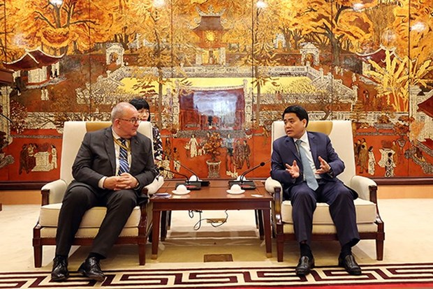 Hanoi willing to back Belgian projects: municipal leader hinh anh 1