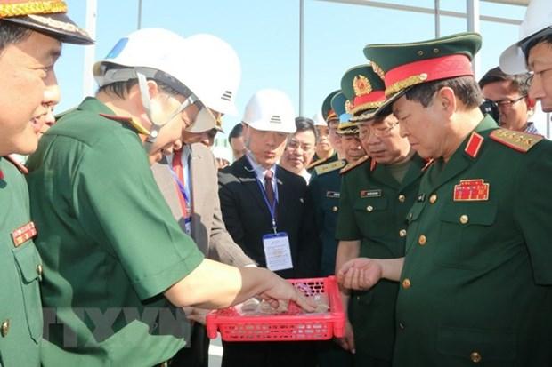 Dioxin detoxification at Bien Hoa airport inspected hinh anh 1