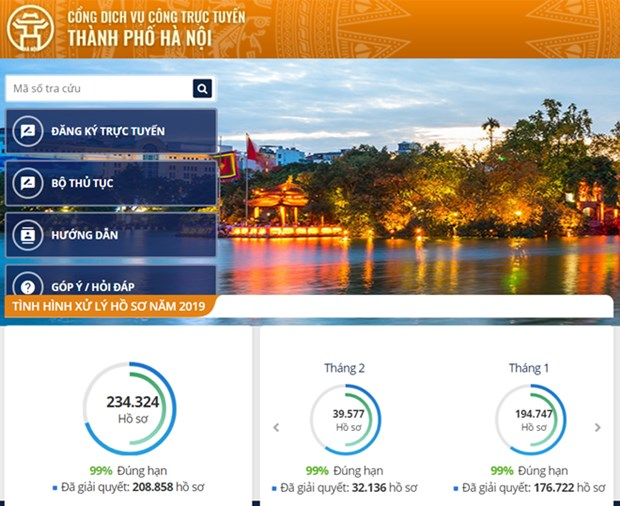 Hanoi to establish steering committee on e-government hinh anh 1