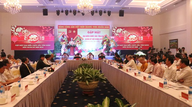 Armed forces, religions enhance mutual understanding hinh anh 1