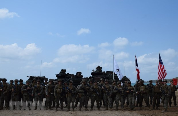 Thailand, RoK, US marines conduct amphibious assault exercise hinh anh 1