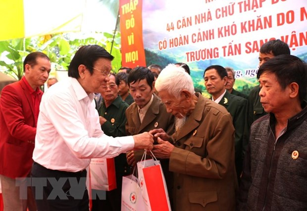 Ha Giang: Activities pay tribute to northern border defenders hinh anh 1