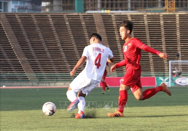 AFF U22 Championships: Vietnam's win against Philippines spotlighted hinh anh 1