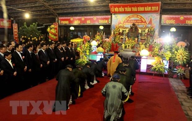 Tran Temple Festival opens in Thai Binh hinh anh 1