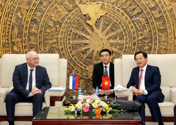 Vietnam, Russia step up anti-corruption collaboration hinh anh 1