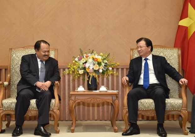 Vietnam, Laos boost partnership in energy development hinh anh 1