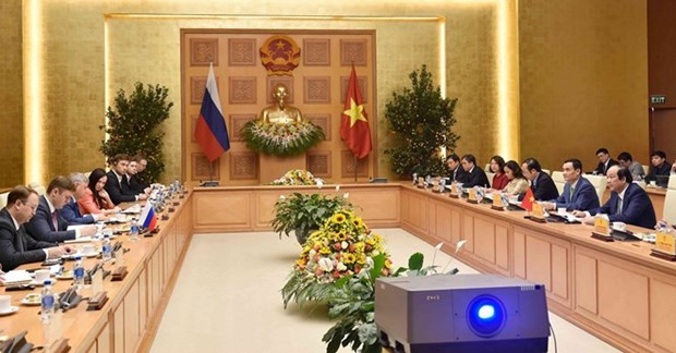 Vietnam, Russia discuss e-government building hinh anh 1