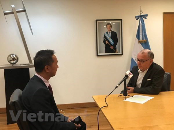 Vietnam has important role to play in Argentina's external relations: official hinh anh 1