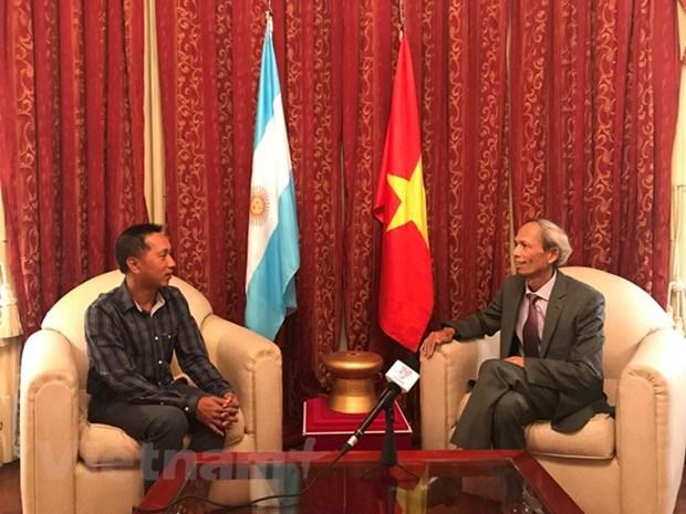State visit to strengthen Vietnam-Argentina ties: ambassador hinh anh 1