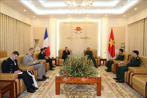 Deputy minister highlights Vietnam-France defence cooperation hinh anh 1
