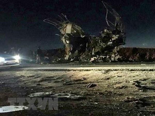Condolences extended to Iran over terror attack hinh anh 1