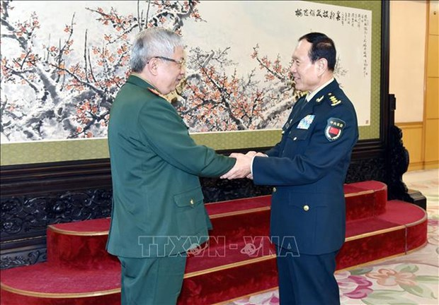 Deputy Defence Minister visits China to boost military exchanges hinh anh 1