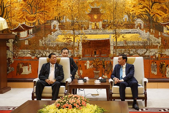 Hanoi, Vientiane police cooperate more effectively: Lao official hinh anh 1
