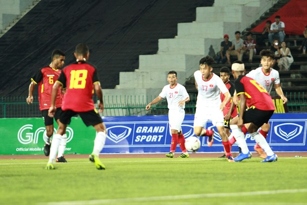 AFF U22 Championship: Vietnam enter semi-finals hinh anh 1