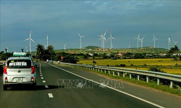 Quang Tri: Over 225 mln USD to be invested in wind power projects hinh anh 1