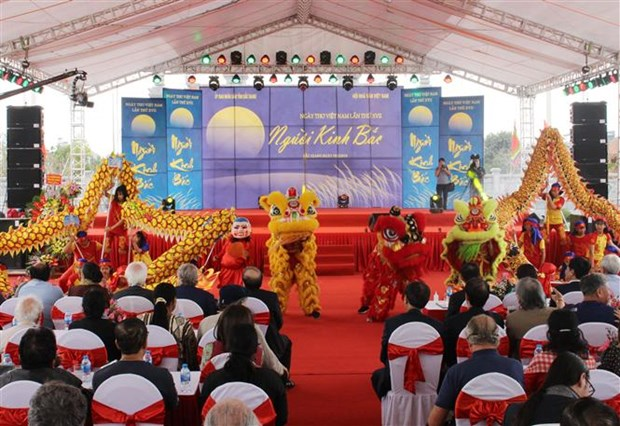 17th Vietnam Poetry Day marked in Bac Giang hinh anh 1