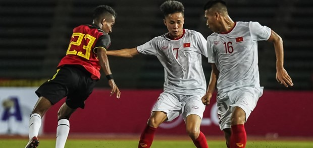 AFF U22 Champs: Vietnam's win against Timor Leste hailed by foreign media hinh anh 1
