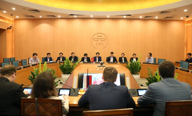 Hanoi ready to work with Russian firms in building e-Government: official hinh anh 1